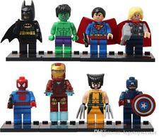 LEGO THE AVENGERS LOS VENGADORES MINIFIGURES BLOCKS IRON MAN BATMAN HULK THOR..