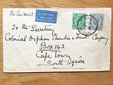 """KENYA 1932 COVER TO South Africa WITH VERY FINE """"NYERI"""" POSTMARK (1)"""