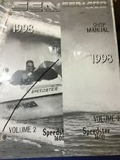 GENUINE SEA DOO VOLUME 2 SHOP MANUAL FOR SPEEDSTER 1600 P219100077