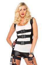 Leg Avenue 2706 SWAT Body Harness Costume Medium/large Black