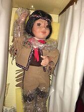 "Pathfinder Artaffects Danbury Mint Native American Doll Tulimake"""