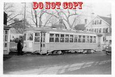 6G285 RP 1947 EASTERN MASS STREET RAILWAY QUINCY SQUARE CAR #7002?