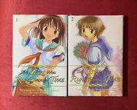 The Girl Who Runs Through Time, Vols. 1 & 2 NEW SEALED English Manga CMX 2008