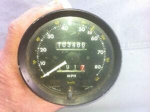 Jaguar XJ6 1979-87 Original 80 MPH Speedometer