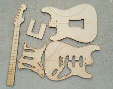 Strat Guitar Template