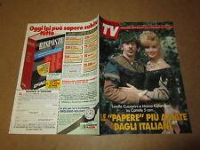 FAMIGLIA TV OTTOBRE 1991 L.CUCCARINI M.COLUMBRO R.CARRA' J.DORELLI ALBERTAZZI