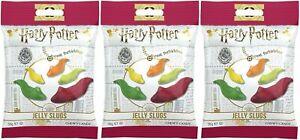 3x Harry Potter Jelly Belly Jelly Slugs Gummi Candy Slugs 56g American Sweets