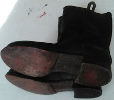 RARE BOTTES CHAUSSURE MILITAIRE ALLEMAGNE WW2 RANGERS BOOTS MILITARY