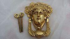 Victorian Solid Brass MEDUSA Door Knocker Brand New