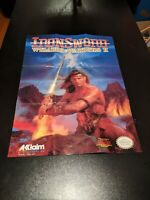 Swords and Serpents (Nintendo Entertainment System, 1990) video game Poster
