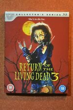 VESTRON VIDEO RETURN OF THE LIVING DEAD 3 Blu-Ray with slip cover