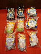 Lot of 9 Walt Disney's Pixar Toy Story McDonald's Toys 2001 - 2005 / Lot A6