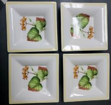 Villeroy & Boch PARKLAND Dipping/Butter Plate  set of 4 Made in GERMANY.