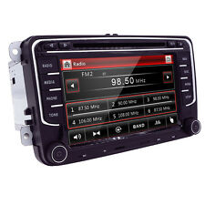 7inch 2 Din HD Car DVD Player GPS Nav For VW Golf POLO Caddy Golf GTI Touran