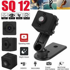 SQ12 140° Wide Angle Mini HD 1080P Night Vision Sport Action Camera DV Camcorder