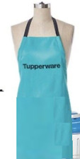 Tupperware Apron Embroidered Logo Award Blue New in Package