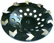 7 Arrow Segment Diamond Cup Wheel Concrete Mastic Floor Grinding 58 11best