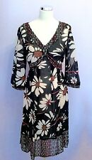 Monsoon V-Neck 3/4 Sleeve Floral Dresses for Women