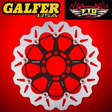 Galfer Front Floating Wave Rotor For 2001-2002 Suzuki GSXR 1000 DF320CW