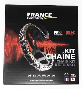 kit chaine acier SYM SYM 125 WOLF CLASSIC 2005-2008 16X41 chaine xw'ring supe...