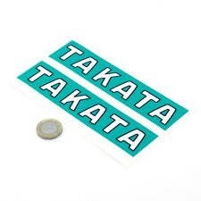 Takata STICKERS Decal Vinyl Car 150mm x2 Race Car Racing Harness Seatbelts