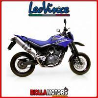 3968E TERMINALI LEOVINCE YAMAHA XT 660 X 2005- X3 ALLUMINIO/INOX