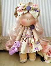 Rag doll handmade in the UK Tilda doll Ooak doll Art doll DEBBIE 8 inch tall