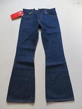 Levi's L32 indigo/dark-wash Herren-Jeans mit mittlerer Bundhöhe