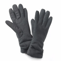 Women's Apt. 9 Sweater-Knit Tech Gloves - Grey Size: L/XL [MSRP $42.00]