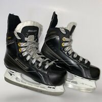 Bauer supreme youth Size Y13.5 Ice Hockey Skates Black Pre-owned