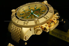 Invicta 50mm Subaqua Noma III Swiss ETA G10.211 18K G.P Chrono S.S Strap Watch