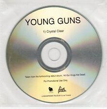 (GH992) Young Guns, Crystal Clear - 2010 DJ CD
