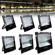 20W-200W SMD LED Flood Light Landscape Outdoor Lamp Spotlight 85-265V IP66 White