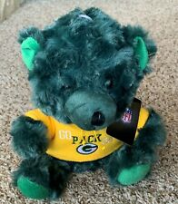 "Forever Collectibles Green Bay Packers NFL Supporters 9"" Bear - New!!"