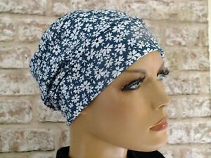 Cotton Jersey Hat, full lining. Headwear for Hair Loss .Cancer, Chemo,