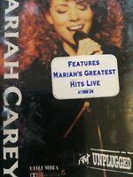 MARIAH CAREY - -  UNPLUGGED - - 1992 Australian Cassette w/ Hype Sticker