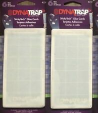 DYNATRAP Insect Trap Stickytech Fly Trap Glue Board Refill, 12-Pk.
