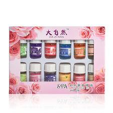 12 Smells 3ML/Box 100% Pure Aromatherapy Bath Essential Oils Massage Skin Care