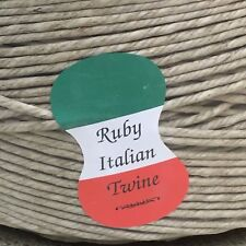 10 yds Ruby Italian Spring Twine 4 ply Hemp Twine Upholstery Supplies Free Ship!
