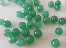 10 perles semi précieuses gemmes JADE NATUREL 8mm vert //43