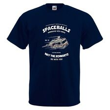 Space Balls Mens PRINTED T-SHIRT May The Schwartz RV Car Flying Wings