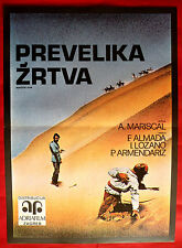 EVERYTHING FOR NOTHING 1970 MEXICAN  ALMADA BUSQUETS MARISCAL EXYU MOVIE POSTER