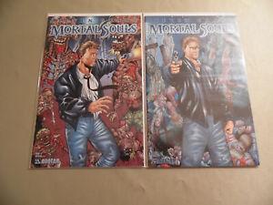 Mortal Souls #1 Cover A + B (Avatar 2002) Free Domestic Shipping