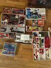 LEGO+vintage+Train+Locomotive+Motor+112+1966+Lot+Heliport+Truck+Car+Ship+Rare