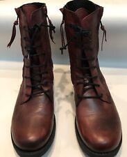 Miz Mooz Leather Moto Boots Size 41 US10