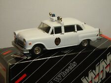 1974 Checker Police - Small Wheels by Western Models WMS 55X England 1:43 *36370