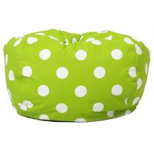 Comfort Research Classic Bean Bag Chartreuse W/White Dots 630250 New