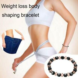 1PC Magnetic Healing Therapy Bracelet Arthritis Hematite Weight Loss Pain Relief