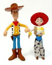 Two McDonald's TOY STORY 2 1999  WOODY & JESSIE Disney Pixar Happy Meal Toys
