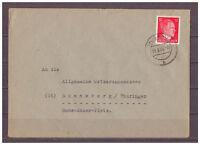 Deutsches Reich, MiNr. 788 Muskau nach Sonneberg 09.08.1944